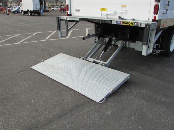 Galvanized Tuck-A-Way Lift Gate