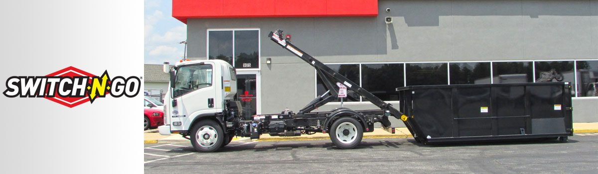 INCREASE YOUR PRODUCTIVITY BY USING A SWITCH-N-GO<sup>®</sup> INTERCHANGEABLE TRUCK BODY SYSTEM