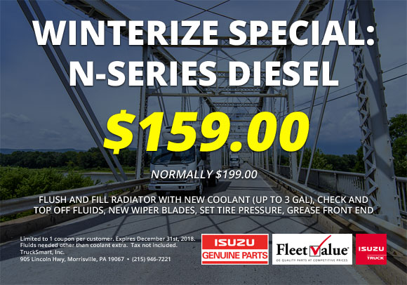 Winterize Special: N-Series Diesel