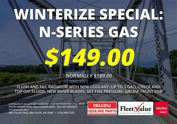 Winterize Special: N-Series Gas